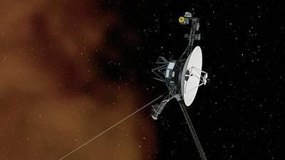 Interstellar Space Photograph - Voyager 1 by Nasa/jpl-caltech