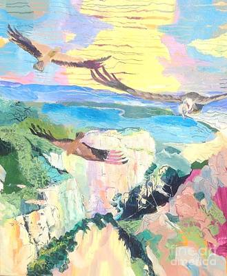 Vultures Over The Gorge Original by Chris Irwin Walker