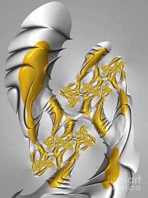Charles Digital Art - W H A L E S by Charles Dobbs