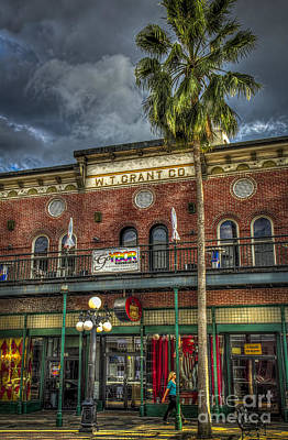 Ybor City Photograph - W. T. Grant Co. by Marvin Spates