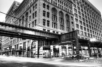 Millennium Park Photograph - Wabash St In Chicago by Twenty Two North Photography