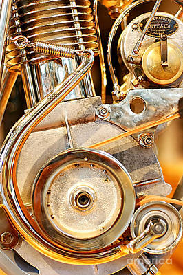 Motorcycle Photograph - Wagner Tensioner by Marley Holman