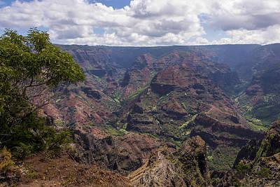 Waimea Canyon 5 - Kauai Hawaii Print by Brian Harig