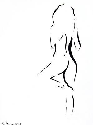 Wait For Me... Print by Anna Androsovski