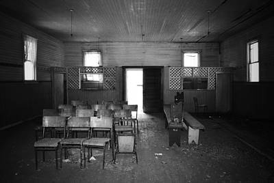 Abandoned Photograph - Waiting For A Concert by Larysa  Luciw