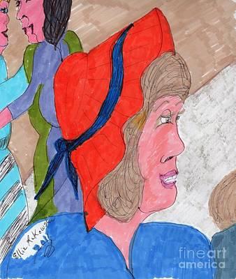Waiting For A Taxi Original by Elinor Rakowski