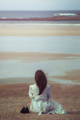 Thoughtful Photograph - Waiting For High Tide by Joana Kruse