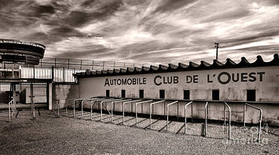 Circuit Photograph - Waiting For Le Mans by Olivier Le Queinec
