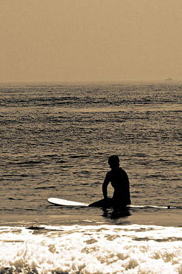Beach Photograph - Waiting by Tom Gari Gallery-Three-Photography