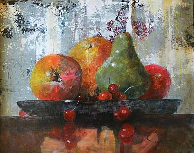 Abstract Realism Painting - Waiting To Be Eaten by John Henne