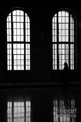 Bnw Photograph - Waiting by Wayne Moran