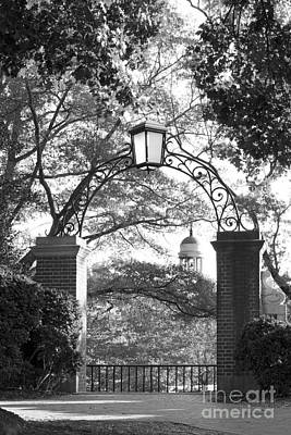Special Occasion Photograph - Wake Forest University Gate by University Icons