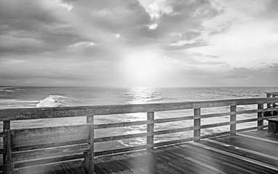 Topsail Island Photograph - Waking Coast by Betsy C Knapp