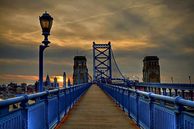 Philadelphia Photograph - Walk With Me by Evelina Kremsdorf