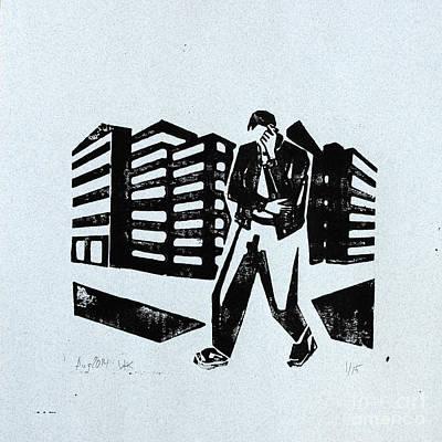 Walking And Talking Original by Igor Kislev