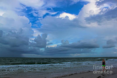 Sanibel Photograph - Walking On Sanibel Beach by Jeff Breiman