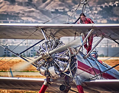 Oldzero Photograph - Walking The Wing by Steve Benefiel