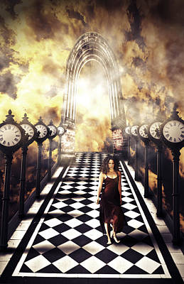 Walking Through Time Print by Nathan Wright