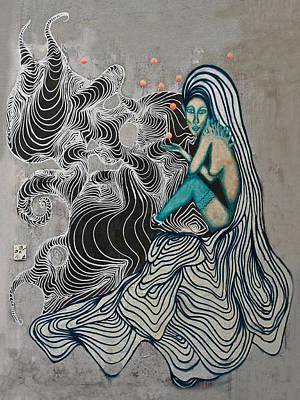 Hair Abstract Art Photograph - Wall-art by Joachim G Pinkawa