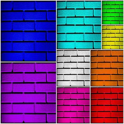 Wall Color Wall Print by Semmick Photo