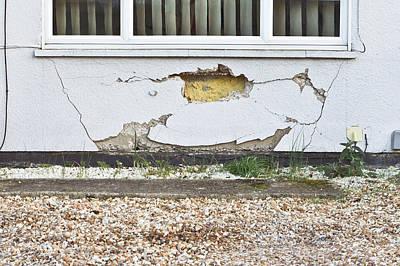 Wall Damage Print by Tom Gowanlock