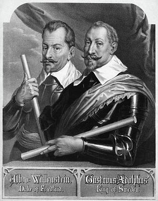 Breastplate Painting - Wallenstein And Gustavus by Granger