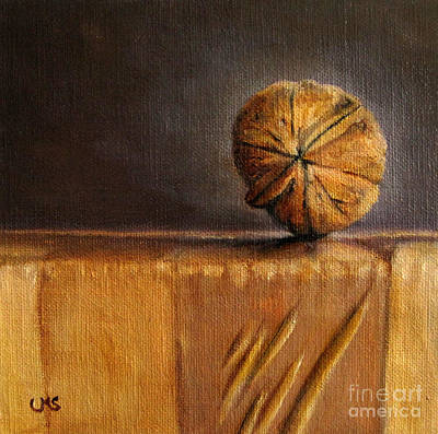 Walnut On Box Print by Ulrike Miesen-Schuermann
