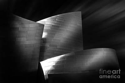 Disney Photograph - Walt Disney Concert Hall 3 by Az Jackson