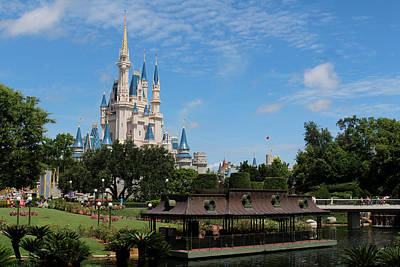 Walt Disney World Photograph - Walt Disney World Orlando by Pixabay