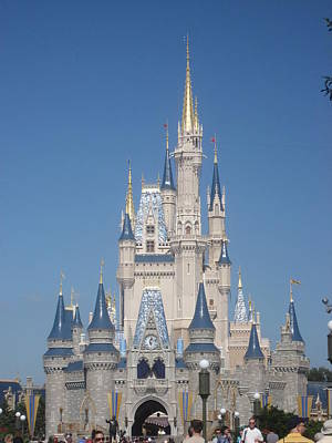 Walt Disney World Resort - Magic Kingdom - 1212129 Print by DC Photographer