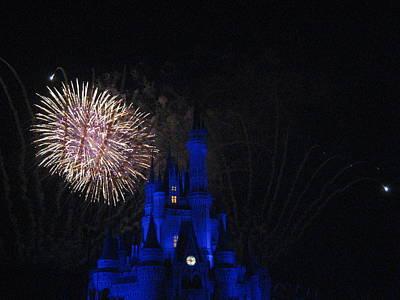 Walt Disney World Resort - Magic Kingdom - 121232 Print by DC Photographer
