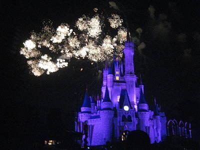 Walt Disney World Resort - Magic Kingdom - 121245 Print by DC Photographer