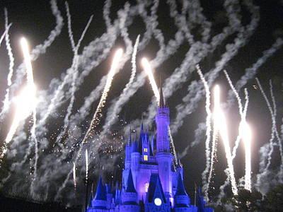 Walt Disney World Resort - Magic Kingdom - 121256 Print by DC Photographer