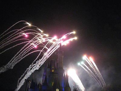 Walt Disney World Resort - Magic Kingdom - 121259 Print by DC Photographer