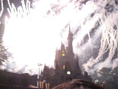 Walt Disney World Resort - Magic Kingdom - 121291 Print by DC Photographer