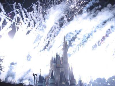 Walt Disney World Resort - Magic Kingdom - 121295 Print by DC Photographer