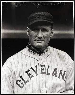 Walter Johnson Print by Gianfranco Weiss