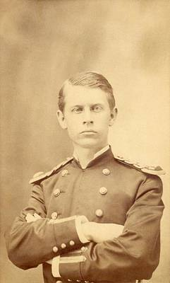 1876 Photograph - Walter Reed by Otis Historical Archives, National Museum Of Health And Medicine
