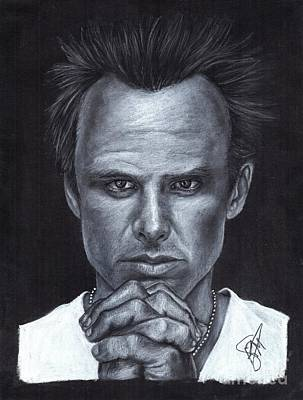 Rosalinda Drawing - Walton Goggins by Rosalinda Markle