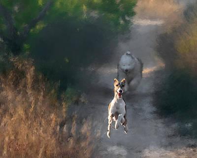 Greyhound Photograph - Wanda by Juan Carlos Ferro Duque