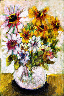 Painting - Wanda's Flowers 2 by Don Thibodeaux