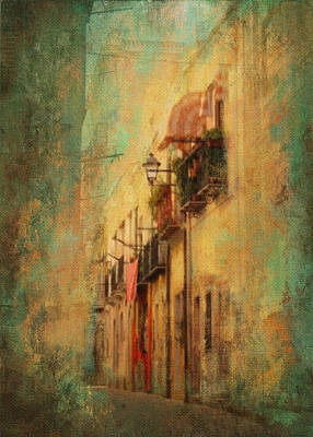 Texture Photograph - Wandering The Streets Of Italy by Carla Parris
