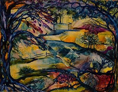 Wandering Woods Print by Kim ShuckhartGunns