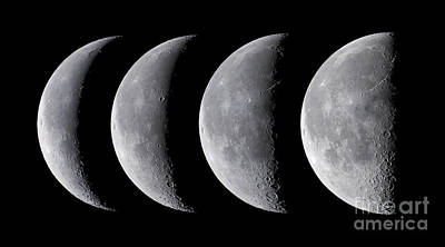 Waning Moon Series Print by Alan Dyer