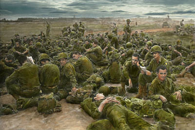 War - A Thousand Stories Print by Mike Savad