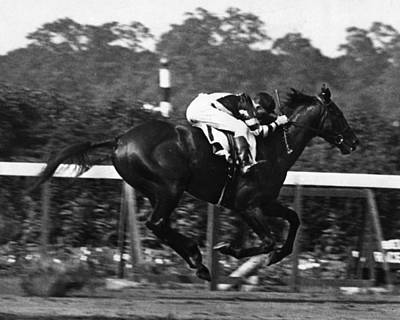 War Admiral Vintage Horse Racing #002 Print by Retro Images Archive