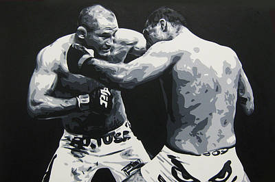 Ufc Painting - WAR by Geo Thomson