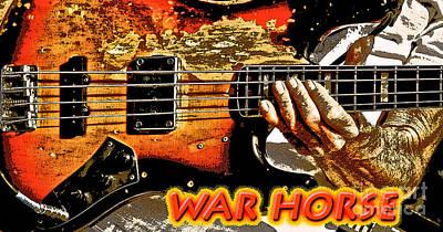 War Horse Print by Robert Frederick