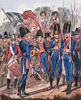 U.s Army Painting - War Of 1812 U by Granger