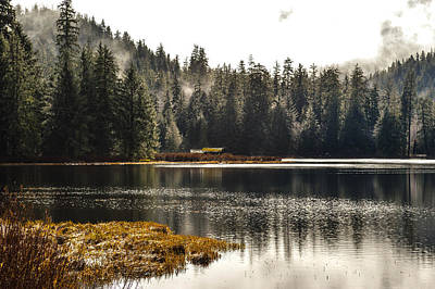 Ward Lake Shack Print by Peter Epler
